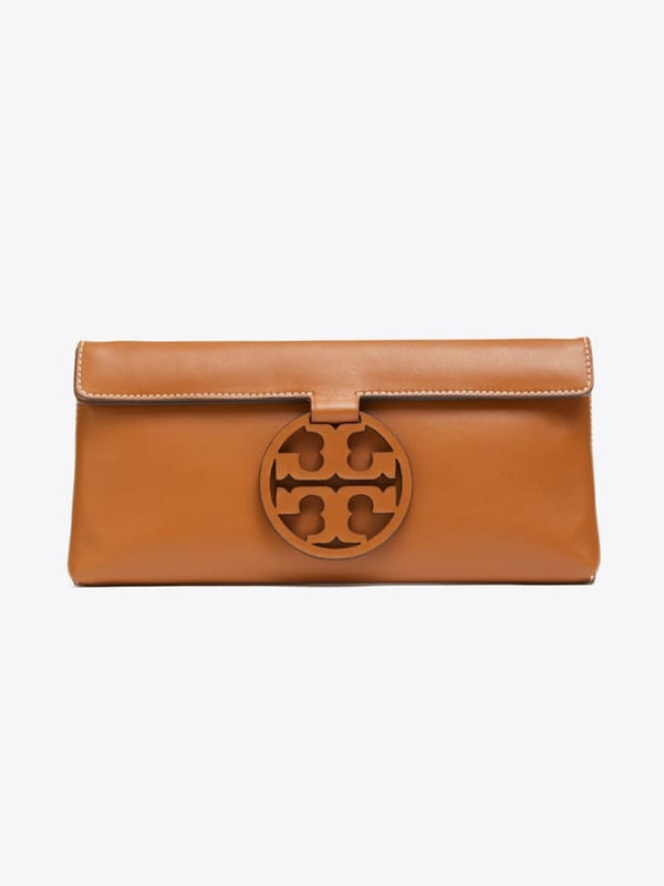 Tory Burch 56267 Miller Clutch Aged Camello