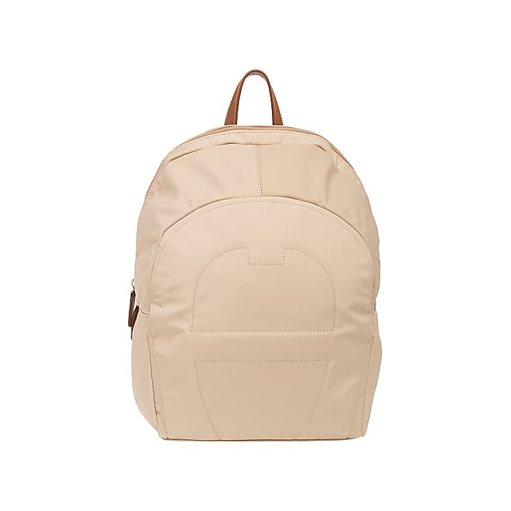Aigner 136337 85  Small Nylon Backpack Taupe