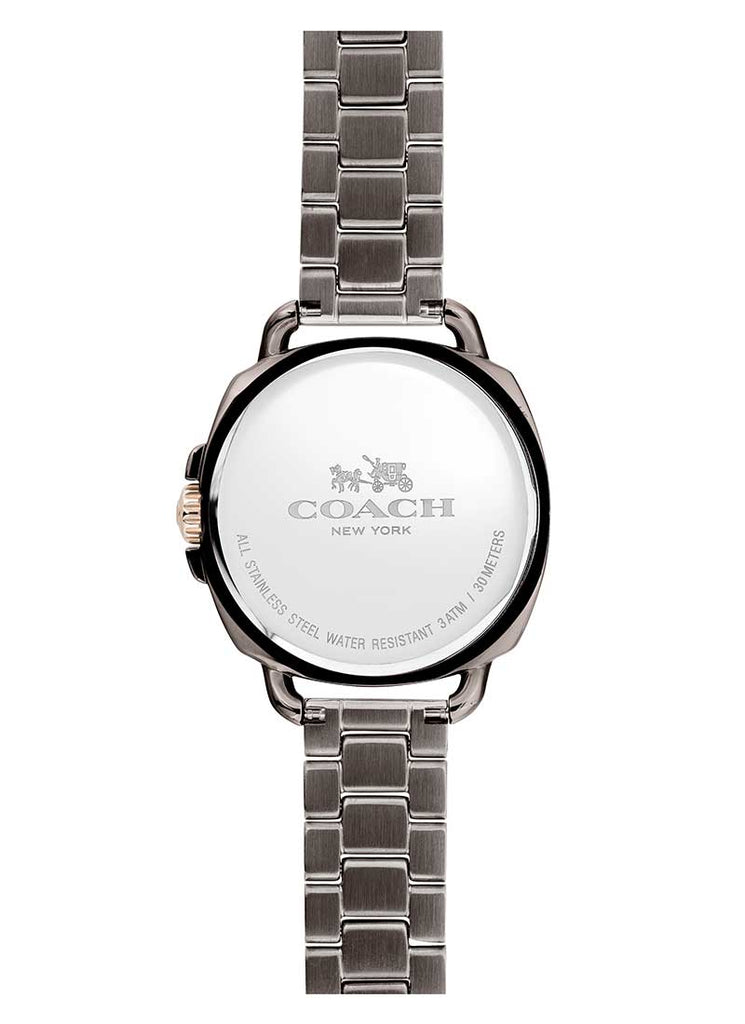 Coach 14502597 Tatum Grey Stainless Steel Watch