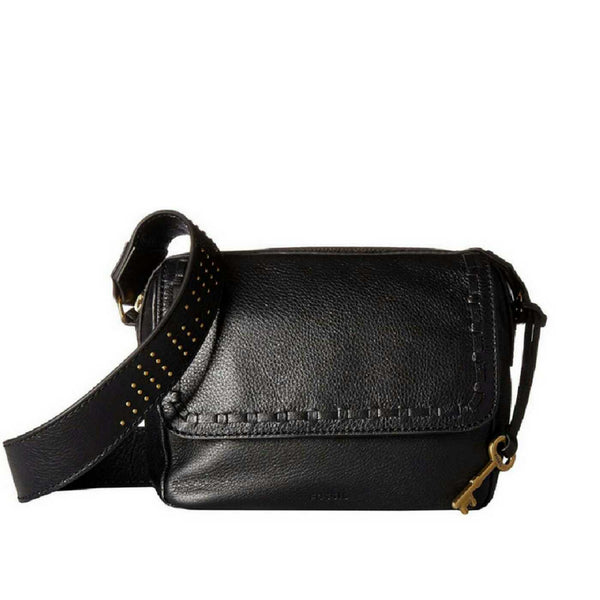 b2c7a0f1ef0 Fossil ZB7371016 Aria Embossed Small Crossbody Black Multi
