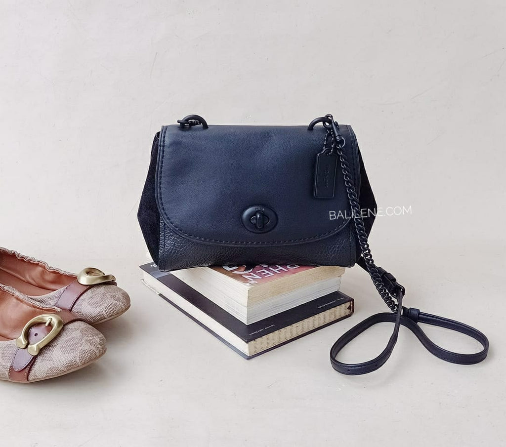 Coach F22349 Faye Crossbody Black