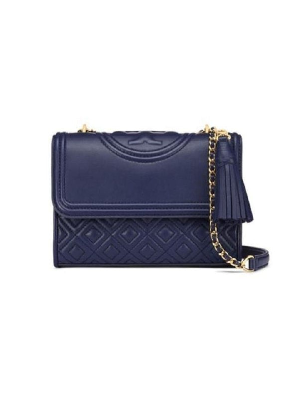 Tory Burch Fleming Large Convertible Royal Navy