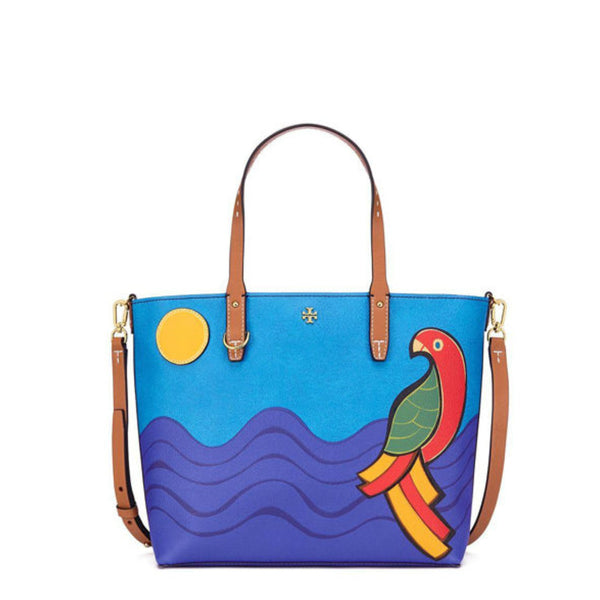 804a3ddebcf7 Tory Burch 46160 Kerrington Parrot Small Square Tote