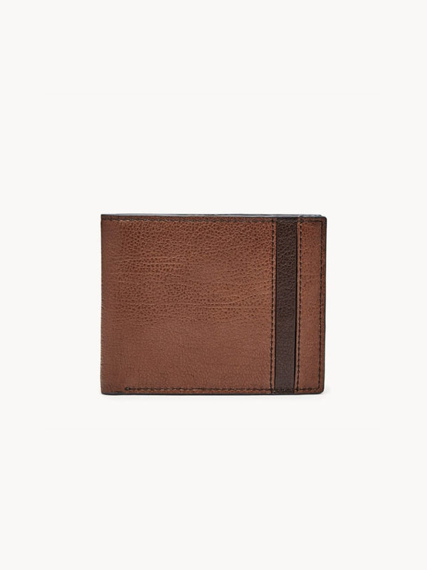 Fossil Wallet Ennis Traveler Brown