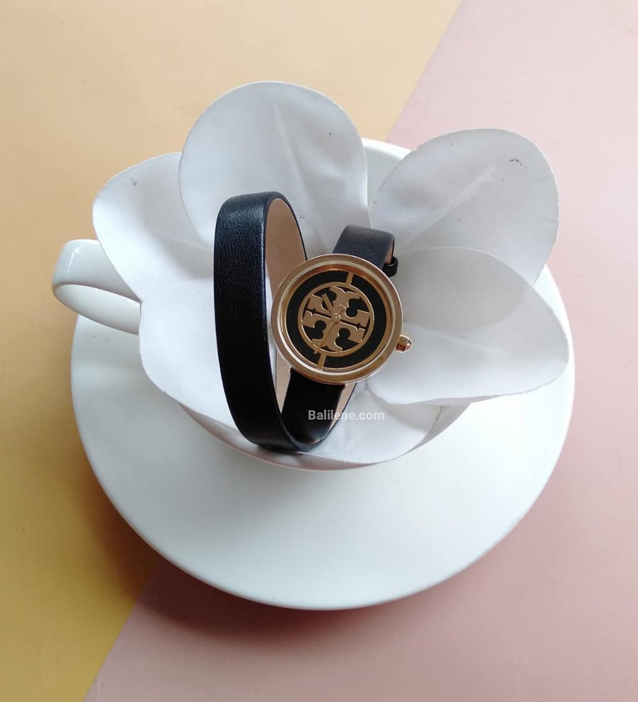 Tory Burch Tbw4019 Reva Watch Quartz Mineral Crystal
