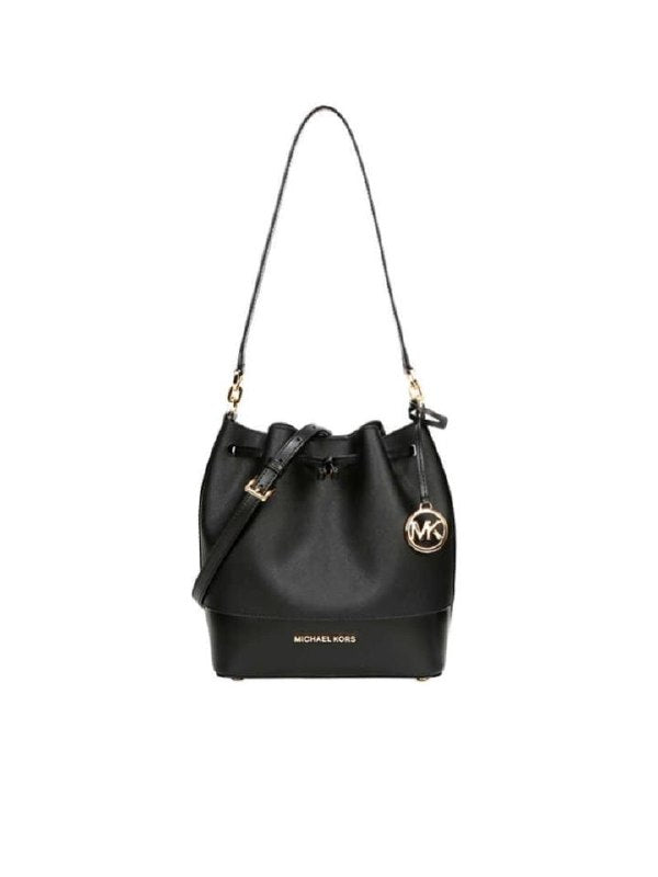 Michael Kors 35h8gt7m2u Trista Medium Bucket Crossbody Black