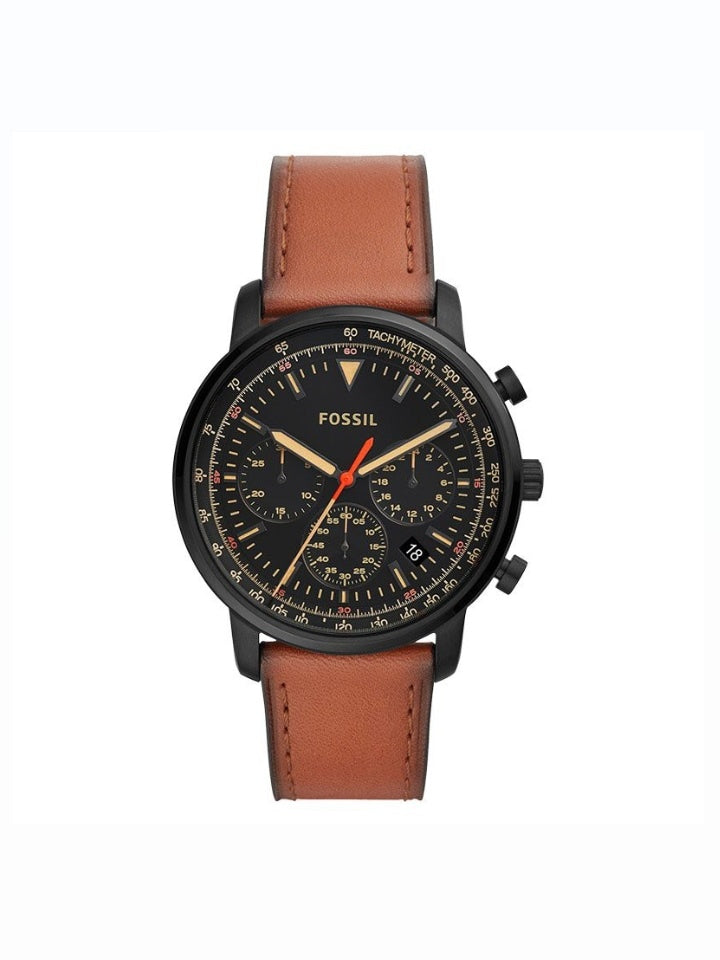 Fossil FS5501 Goodwin Chronograph Black Brown