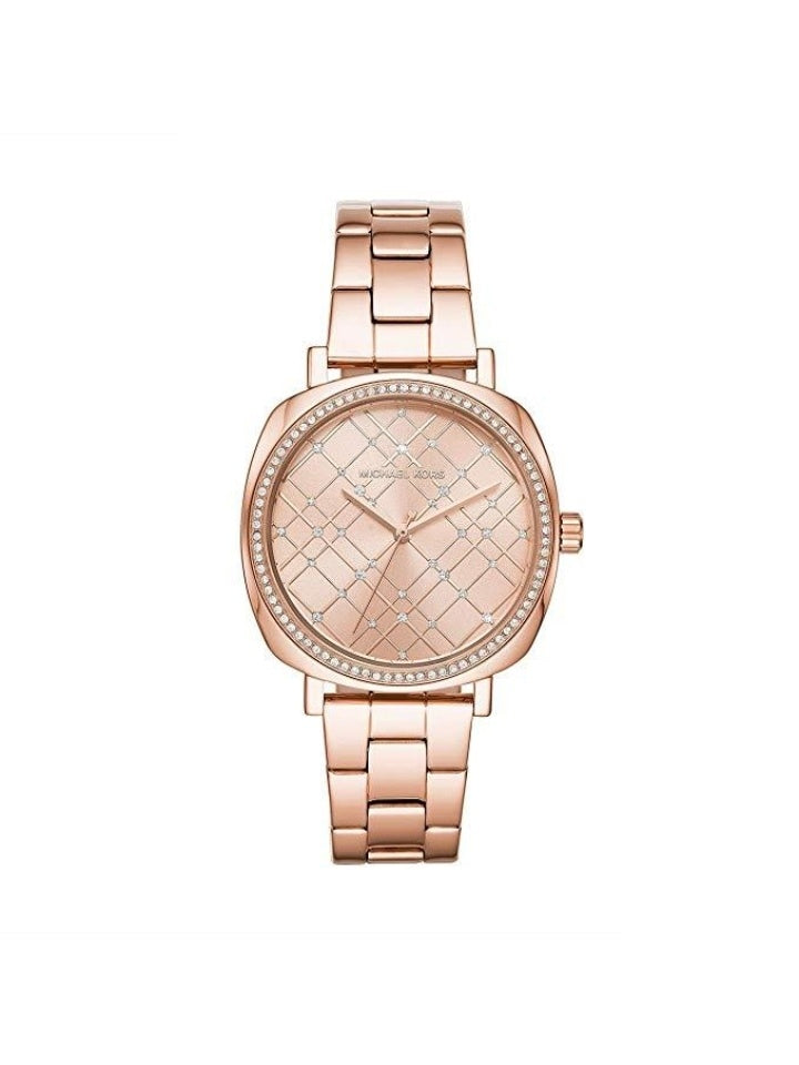 Michael Kors MK3990 Women's Nia Rose Gold Tone Stainless Steel Watch