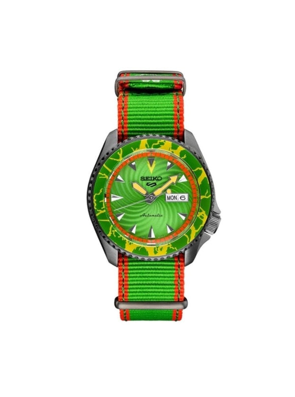 Seiko SRPF23K1 5 Sports x Street Fighter V Green