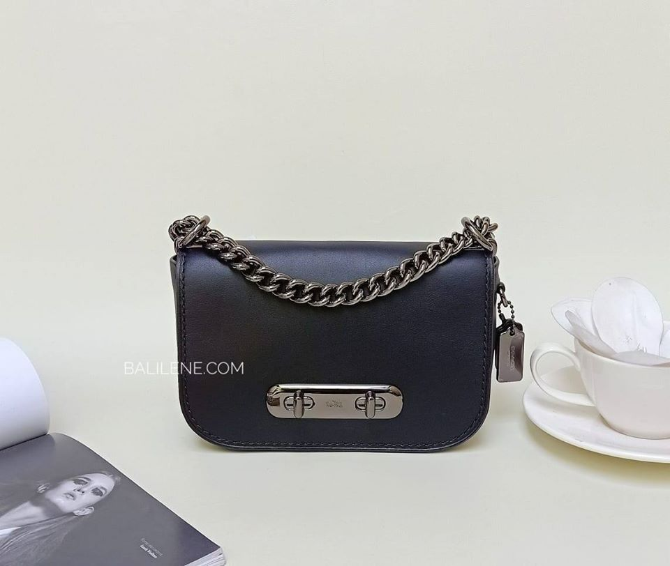 Coach F18858 Swagger 20 Crossbody Black