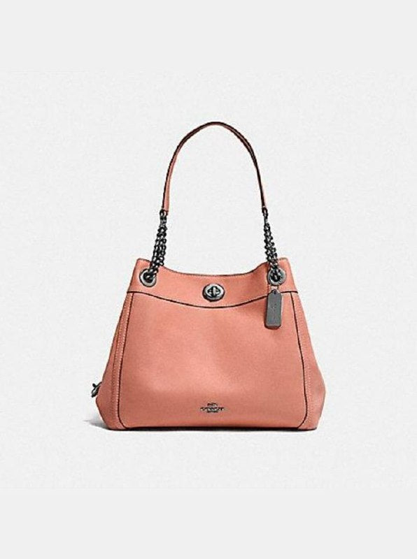 Coach F36855 Turnlock Edie Shoulder Bag Melon