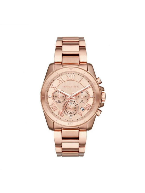 Michael Kors MK6367 Brecken Chronograph Stainless Rose Gold Watch