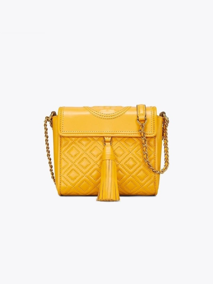 Tory Burch 48894 Fleming Box Crossbody Daylily