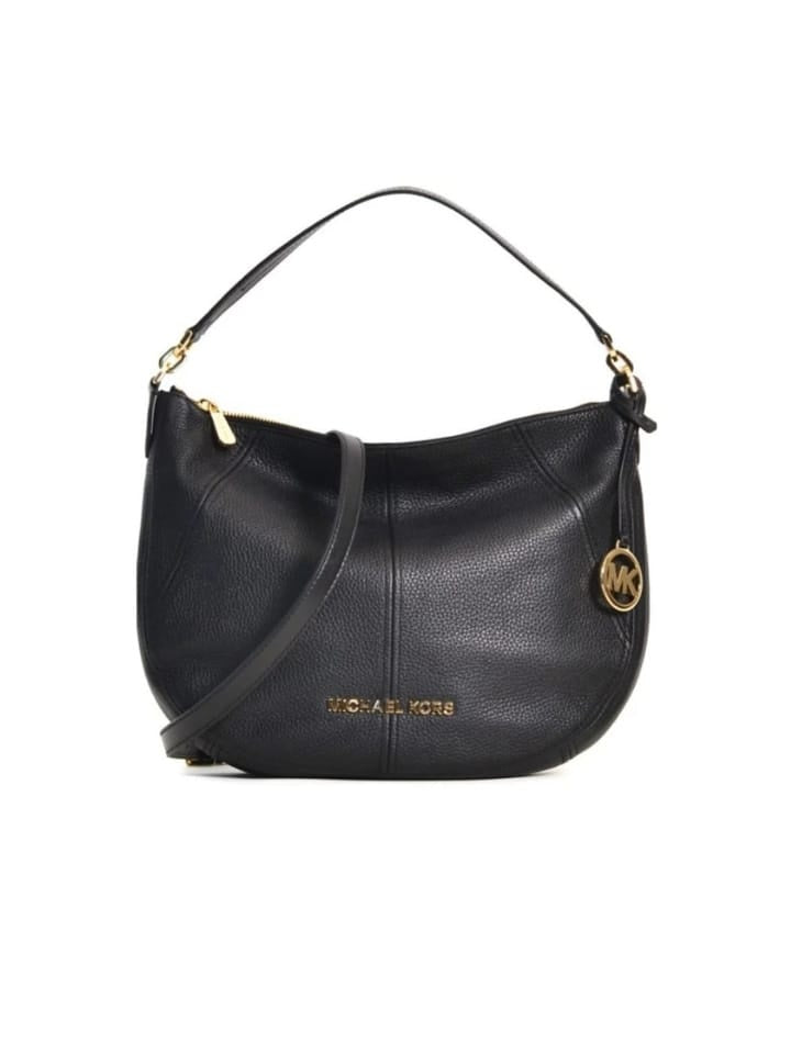 Michael Kors 35T9GBFL6L Bedford Medium Leather Black