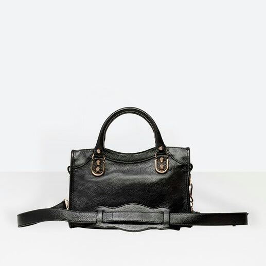 Balenciaga Classic Metallic Edge Mini City Black