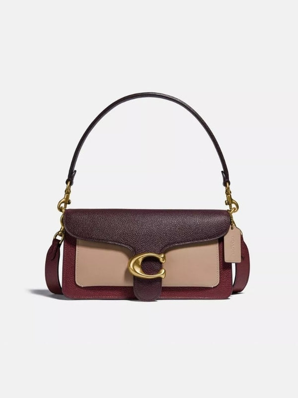 Coach 76105 Tabby 26 Shoulder Bag Wine Multi