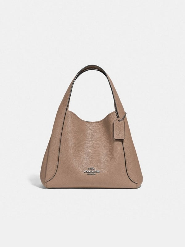 Coach 78800 Hadley 21 Pabbled Leather Taupe