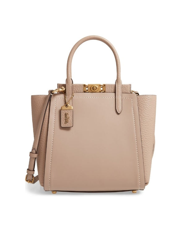 Coach 79468 Troupe Tote Colorblok Stone