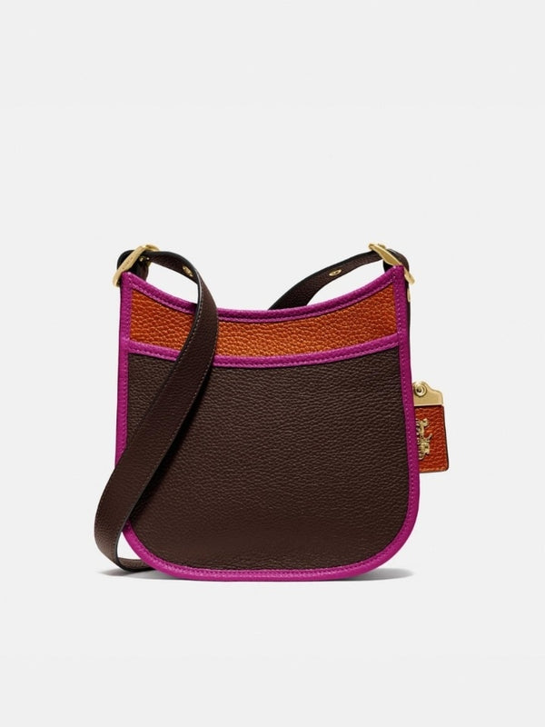 Coach 89124 Colorblok Emery 21 Dark Teak Multi