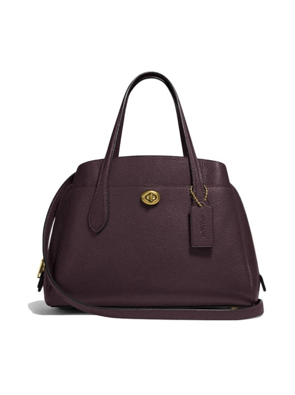 Coach 91740  Lora Carryal 30 Oxblood