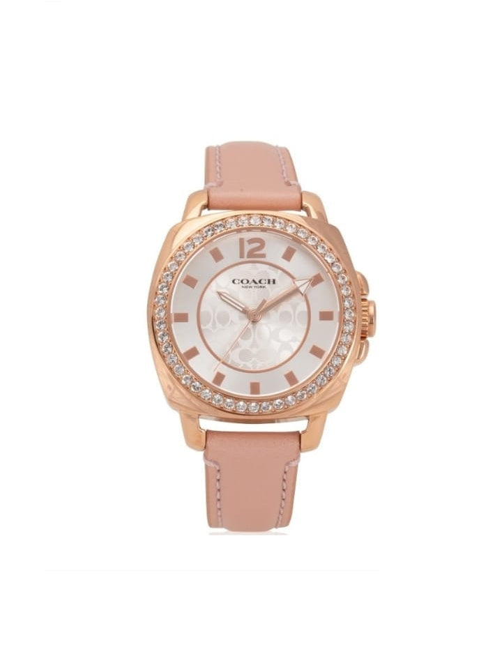Coach 14503151 Boyfriend Pink Leather Rose Gold