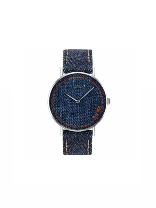 Coach 14503305 Ladies Perry Denim Watch