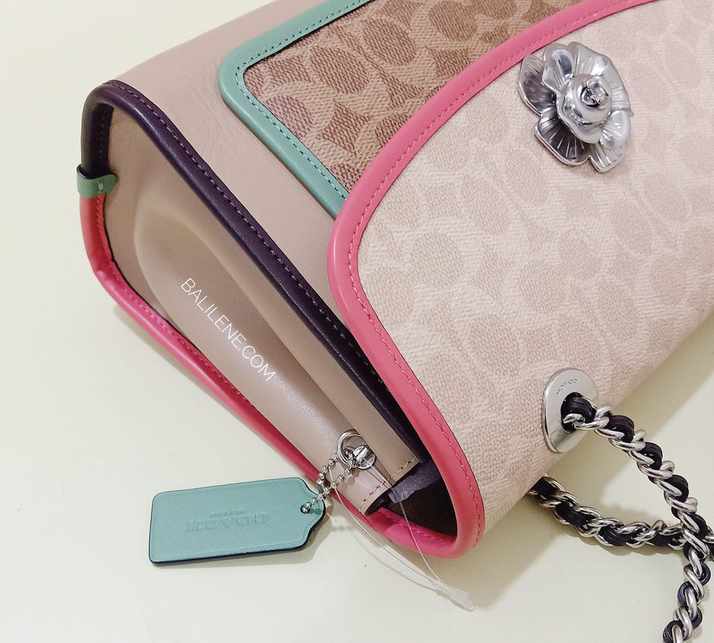 Coach 89111 Parker Signature Colorblok Soft Park
