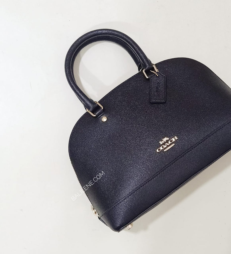 Coach F27591 Mini Sierra Satchel Black