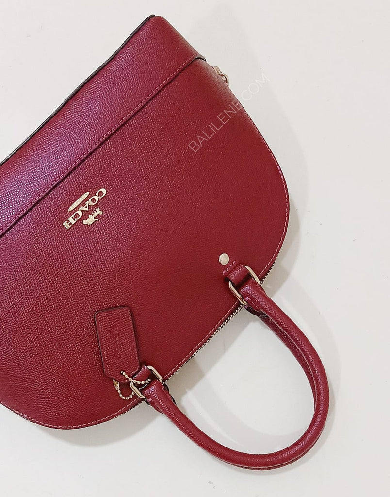 Coach F27591 Sierra Mini Sacthel Cherry