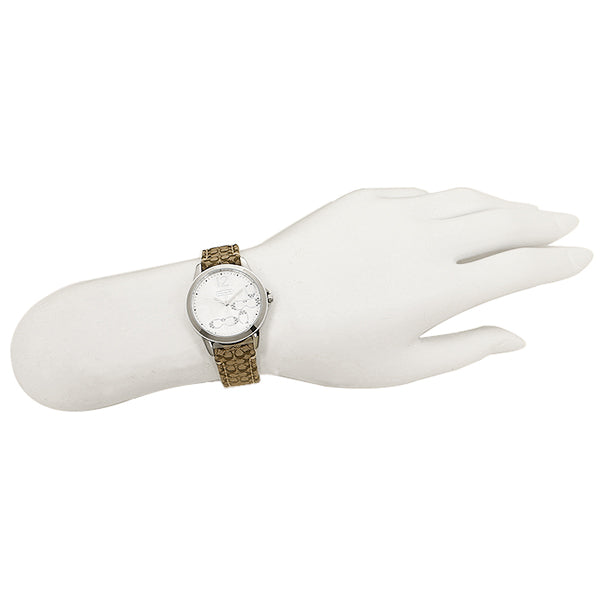 Coach 14501620  Classic Signature White Dial Ladies Watch