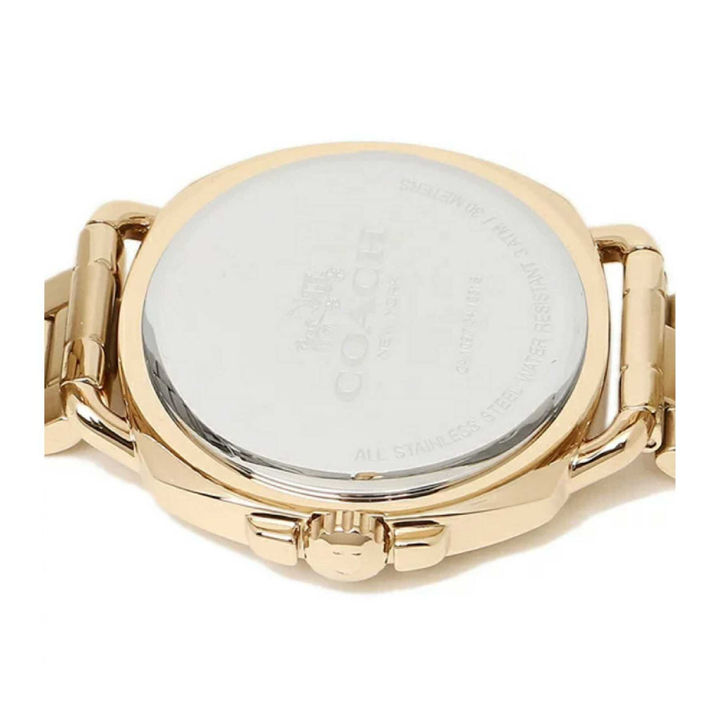 Coach 14502570 Tatum Gold Stainless Steel Watch