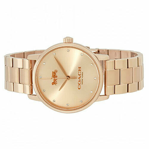 Coach 14502929 Grand Stainless Gold