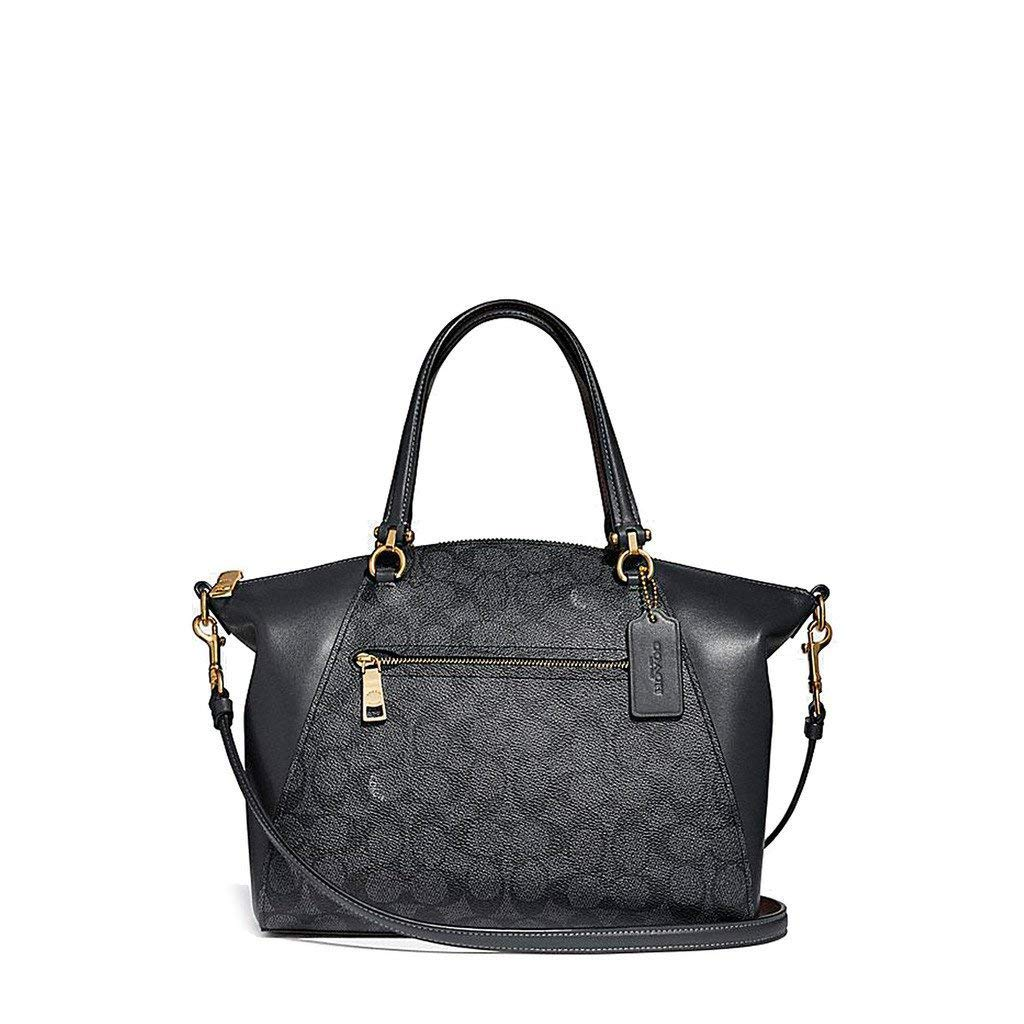 Coach 31666 Prairie In Signature Charcoal Midnight Navy