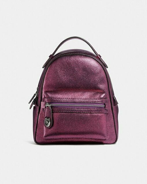 Coach 40715 Backpack Campus 23 Metallic Berry