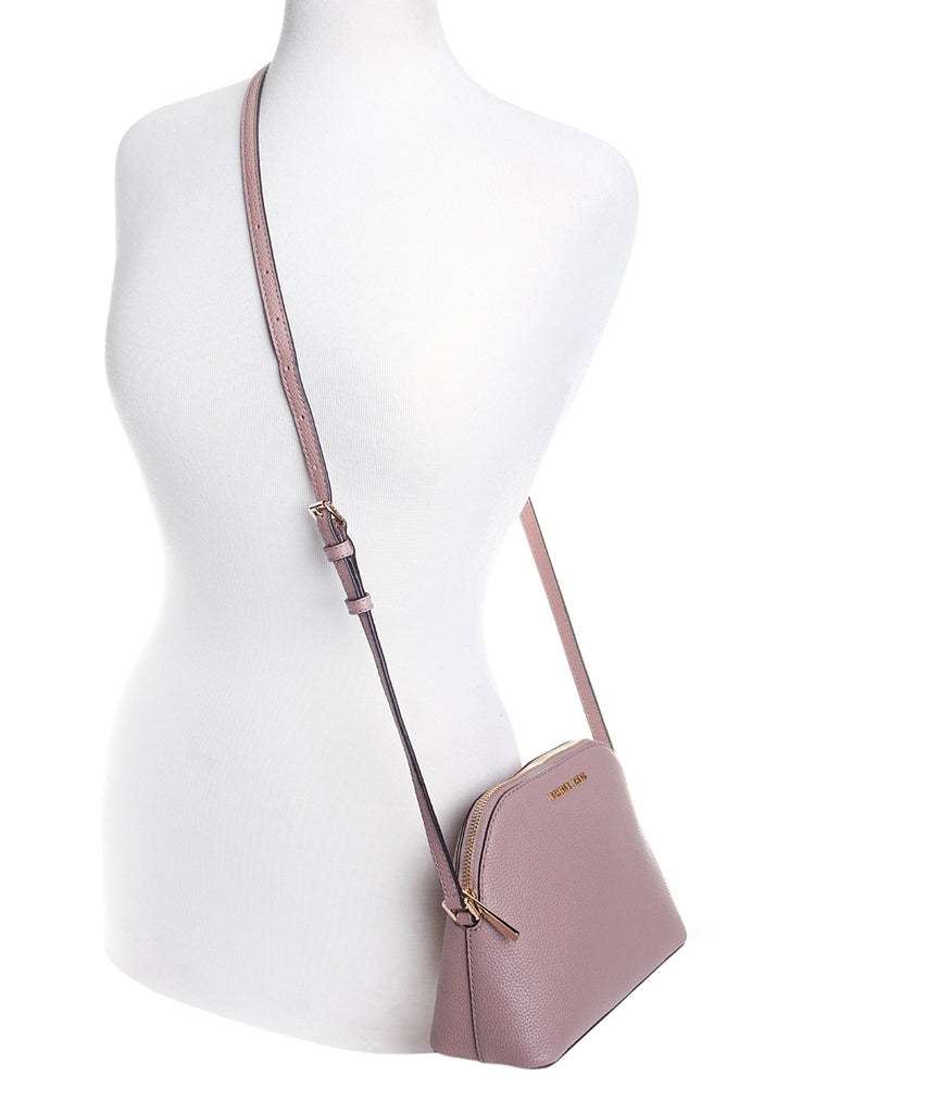 Michael Kors Adele Medium Dome Crossbody Bag Fawn