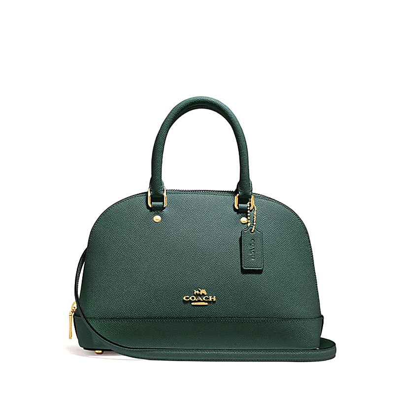 Coach F27591 Crossgrain Mini Sierra Satchel Dark Turquoise