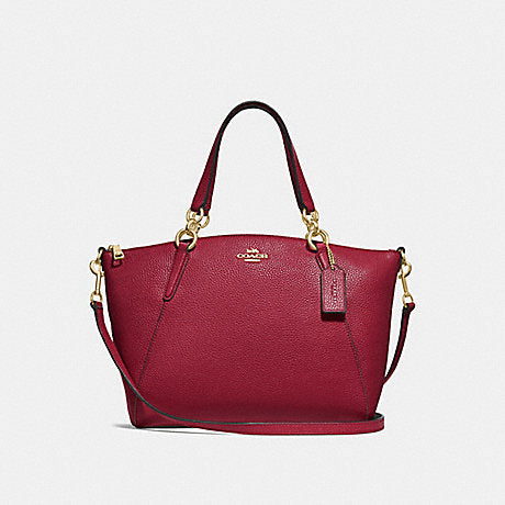 Coach F28993 Small Kelsey Satchel Cherry