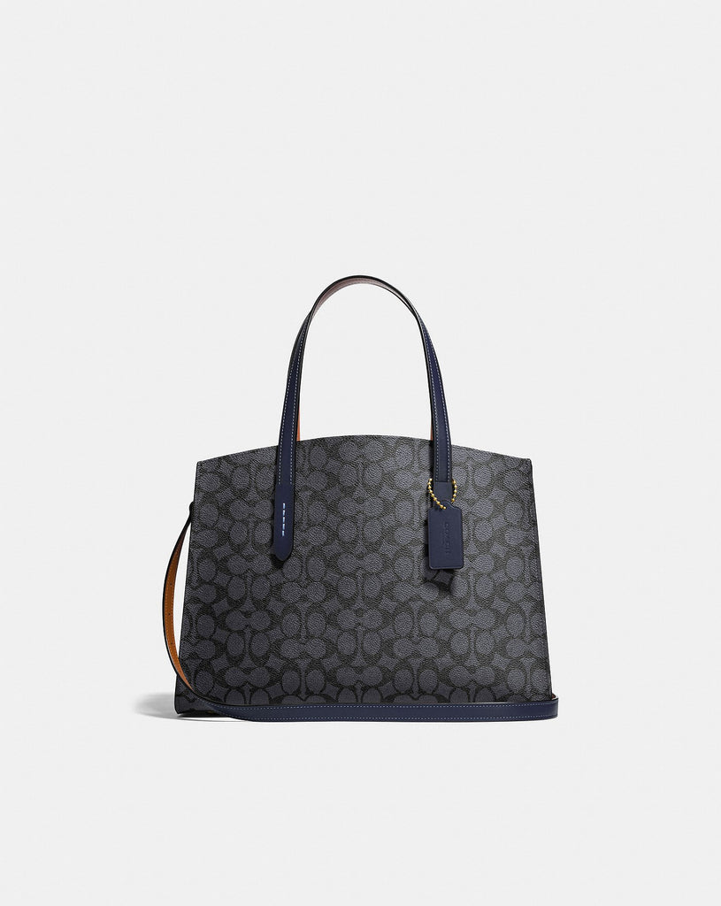 Coach  F31210 Charlie Signature Charcoal Midnight