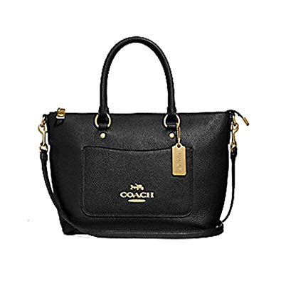 Coach F31466 Mini Emma Satchel Black