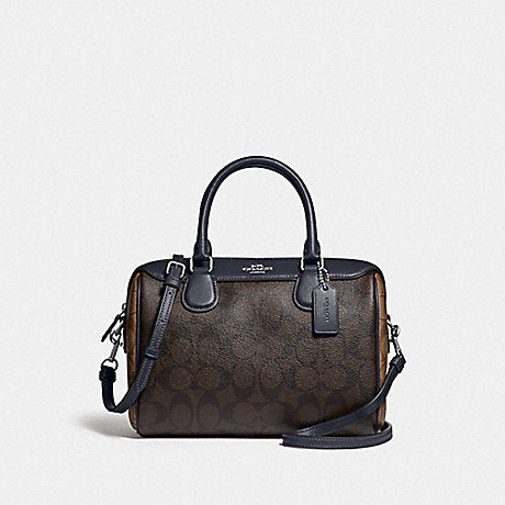 Coach F34279 Mini Bennet Blckng Brown Midnight