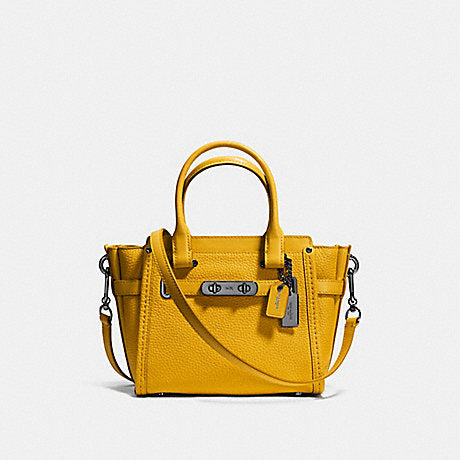 Coach F37444 Swagger 21 Pebble Flax
