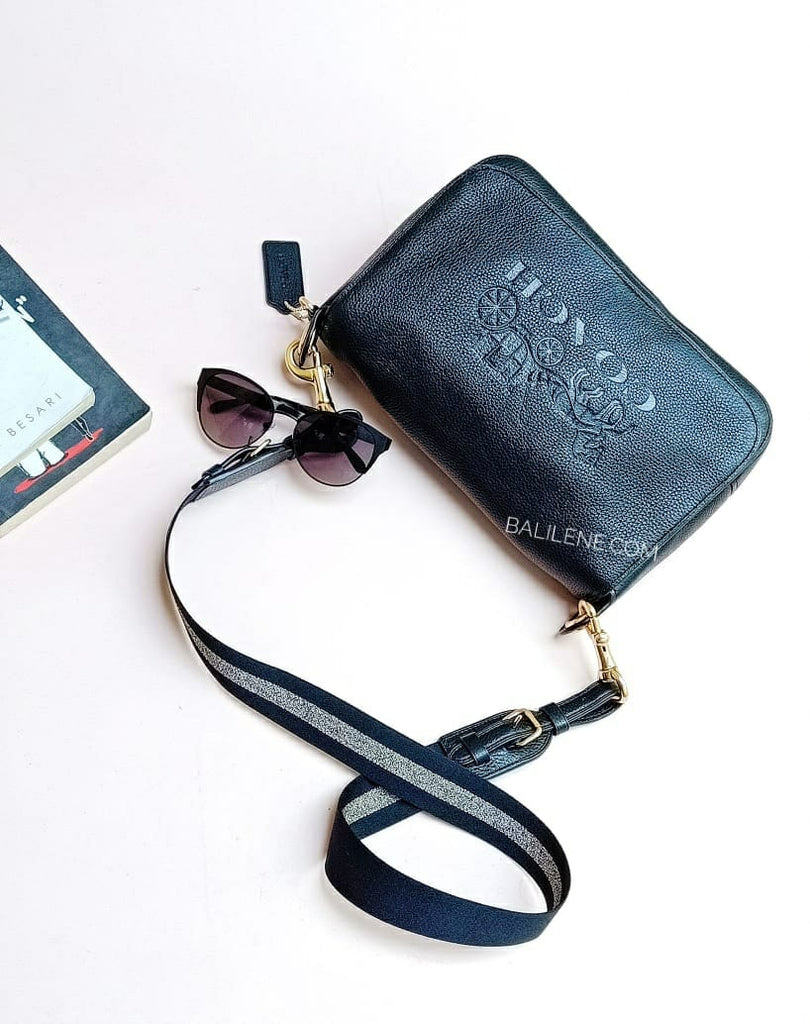 Coach F72703 Jes Messenger Black