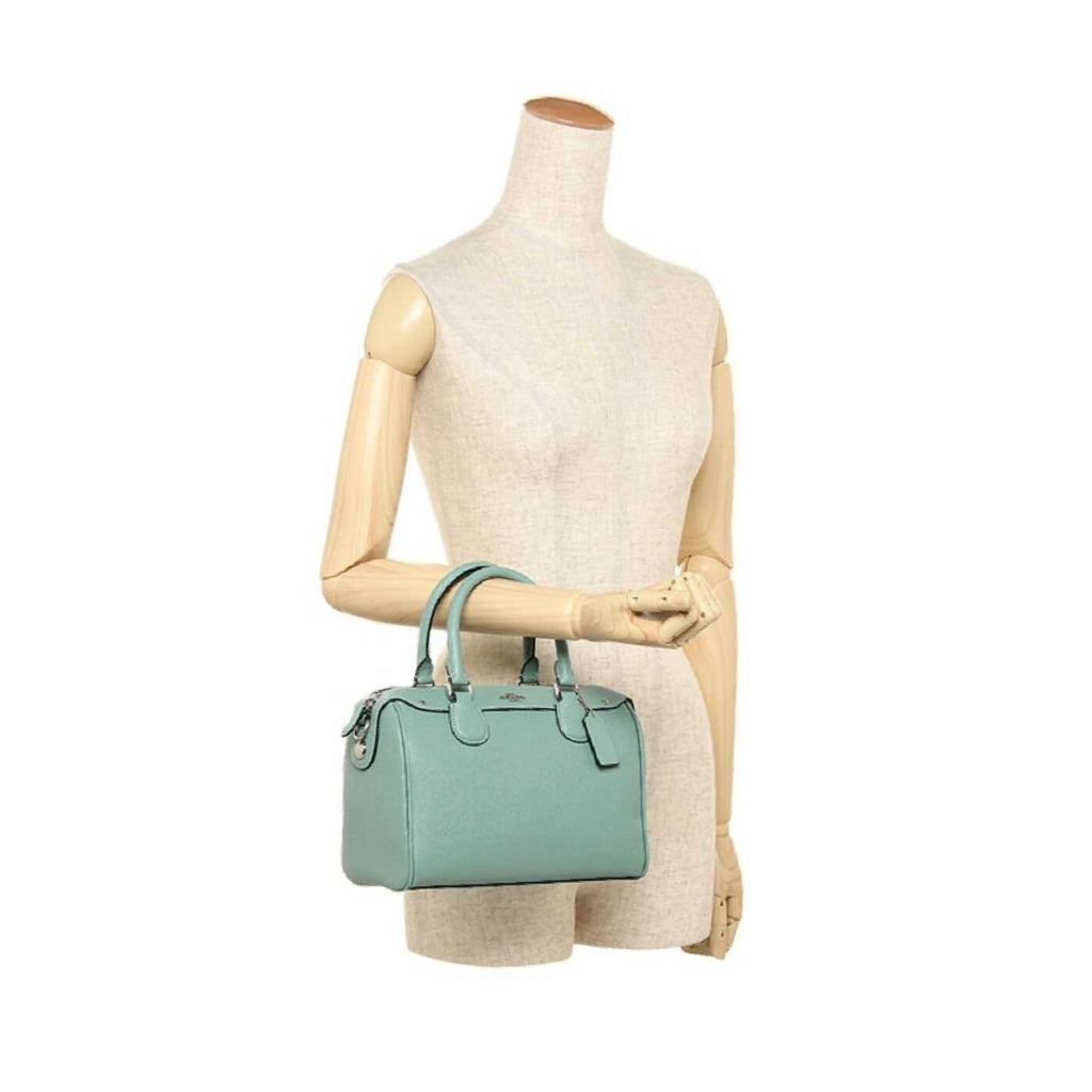 Coach F7521 Mini Bennet Satchel Aquamarine