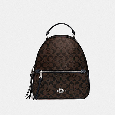Coach F76715 Jordyn Backpack Bloked Brown Midnight