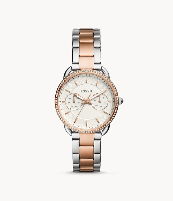 Fossil ES4396 Tailor Multifuntion Two Tone Stainless Stell