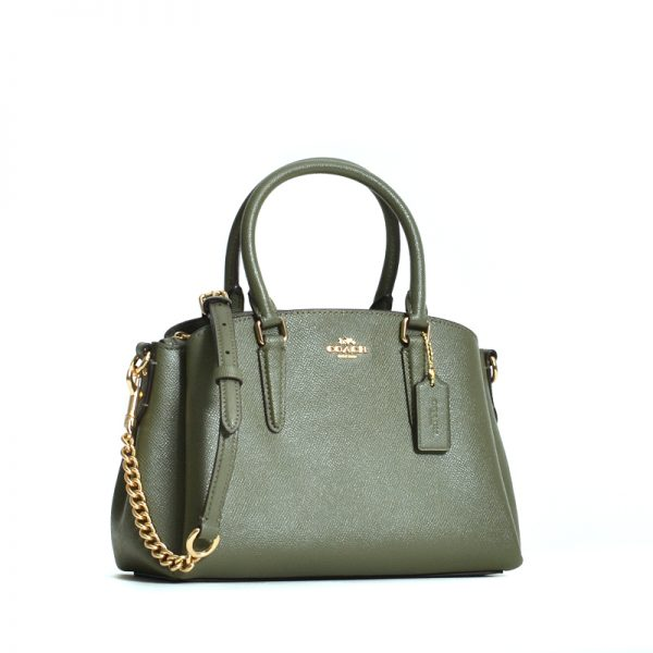 Coach F28997 Mini Sage Carryall Military Green