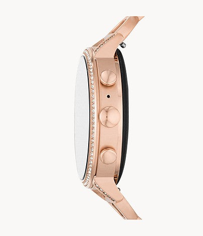 Fossil Ftw6030set Gen 4 Smartwatch Venture Rose Gold-tone Stainless Steel Interchangeable Set