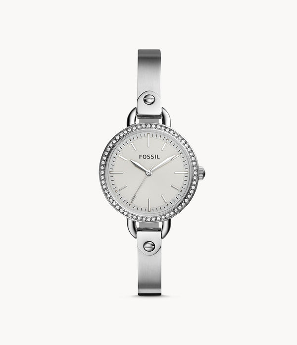 Fossil BQ3162 Classic Minute Three Hand Stainless Steel Watch