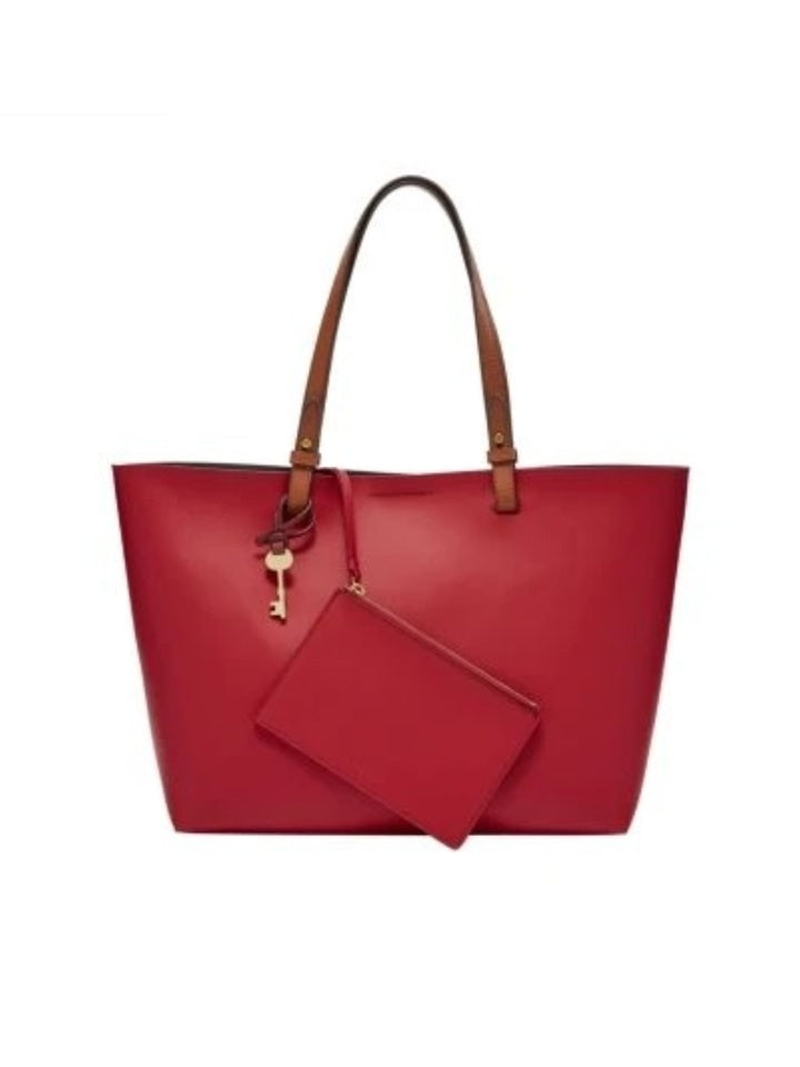 Fossil Zb7426p Rachel Tote Multi Red