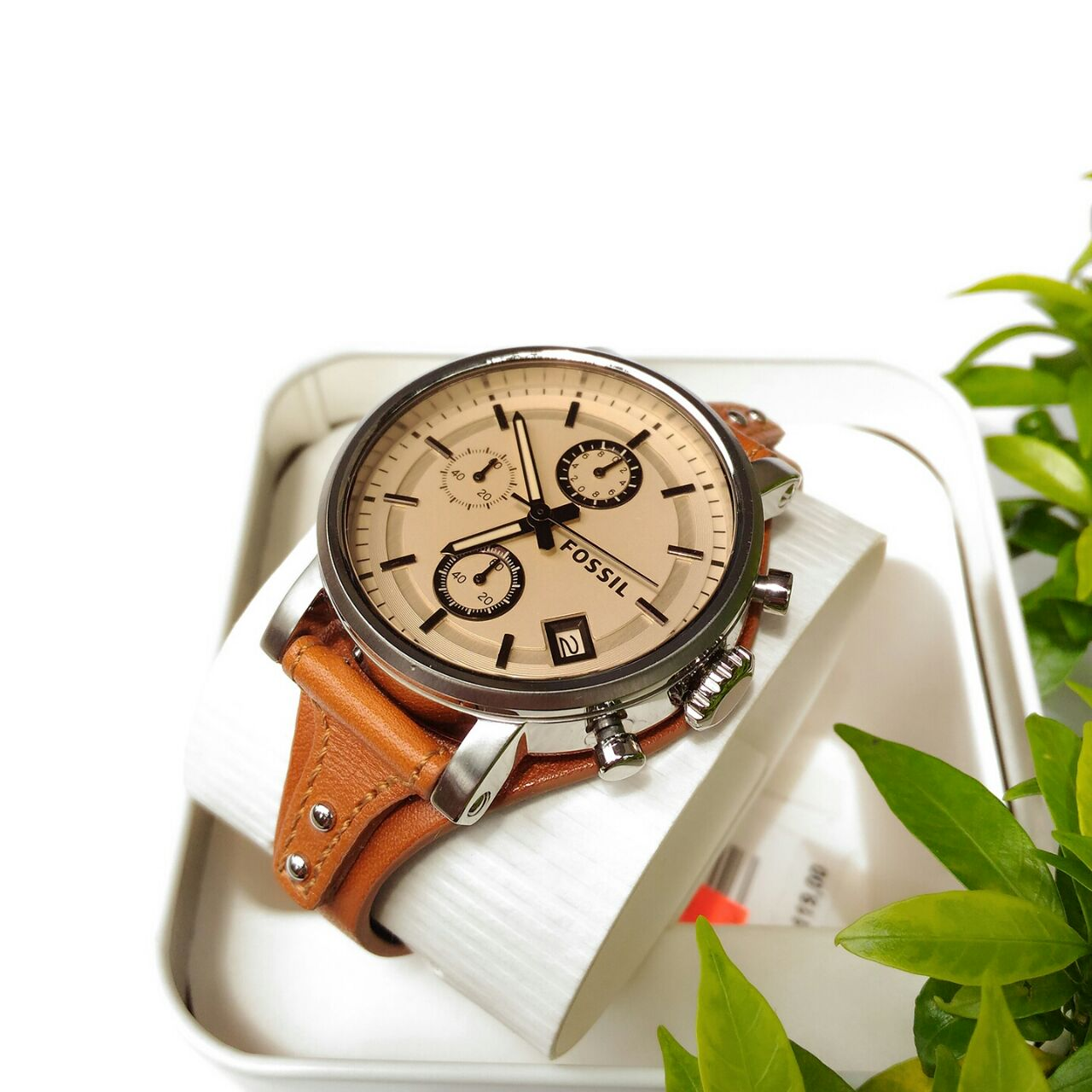 Https Daily Products Adidas Fossil Perfect Boyfriend Es4093 Blue Navy Sport Chronograph Brown Leatherv1517559704